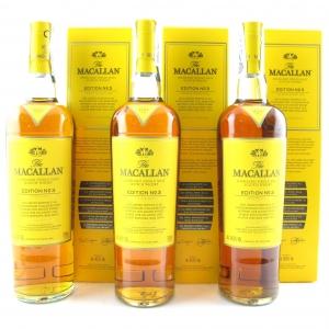 Macallan Edition No.3 3 x 70cl