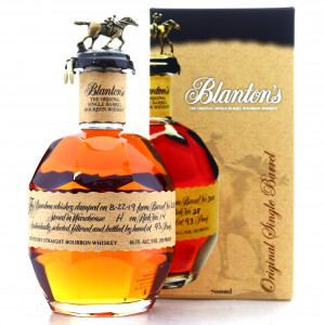 Blanton's Single Barrel Dumped 2019