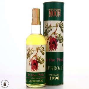 Laphroaig 1990 Moon Import #11684 / In the Pink