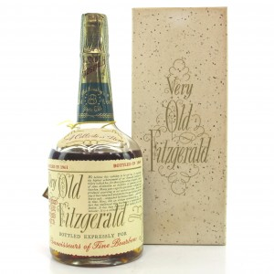 Very Old Fitzgerald 1961 Bonded 8 Year Old 100 Proof Half Pint / Stitzel-Weller