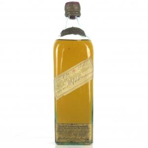 Johnnie Walker Old Highland Whisky Circa 1907-1909 / White Label