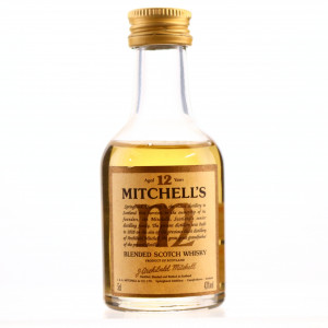 Mitchell's 12 Year Old Scotch Whisky Miniature
