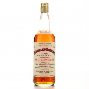 Macallan 1942 Gordon and MacPhail 34 Year Old / Co. Pinerolo Import