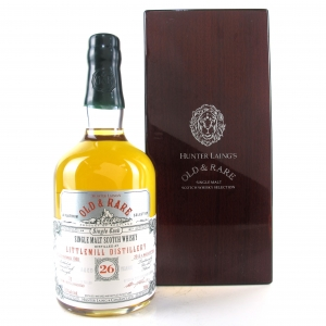 Littlemill 1988 Hunter Laing 26 Year Old
