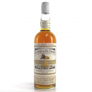 Glenlivet 15 Year Old Gordon and MacPhail 80 Proof 1950s