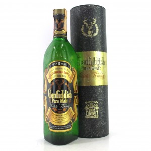 Glenfiddich 8 Year Old Pure Malt 1980s / Gancia & Savas Import