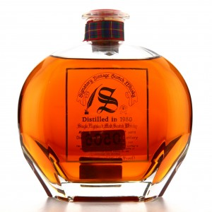 Dufftown 1980 Signatory Vintage 17 Year Old Decanter 75cl / US Import