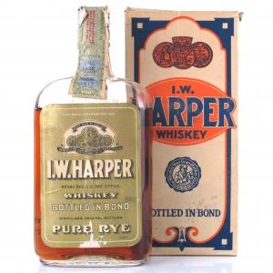 I.W Harper 1917 Rye 1 Pint / Prohibition Era Bottling
