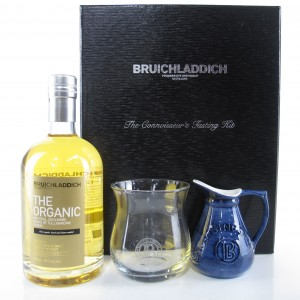 Bruichladdich Organic Connoisseurs's Tasting Kit / includes Glass and Jug