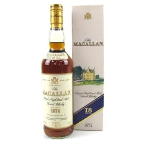Macallan 18 Year Old 1974