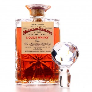 Macallan 1937 Gordon and MacPhail Decanter