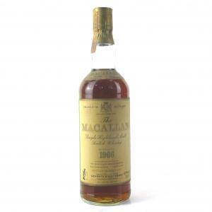 Macallan 18 Year Old 1966 / Giovinetti & Figli Import