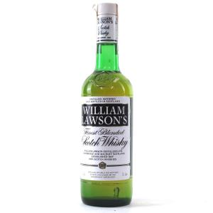 William Lawson's Finest Scotch Whisky 1980s