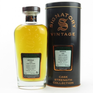 Imperial 1995 Signatory Vintage Cask Strength 20 Year Old