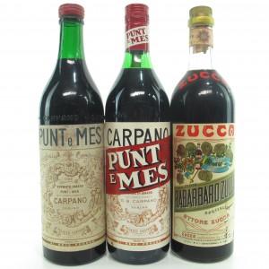 Italian Vermouth x 3