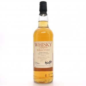 Brora 1977 Whisky Magazine 26 Year Old Editor's Choice / Japan Exclusive