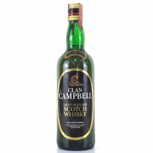 Clan Campbell 5 Year Old Scotch Whisky 1980s / Rinaldi Import