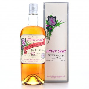 Glen Scotia 1991 Silver Seal 12 Year Old