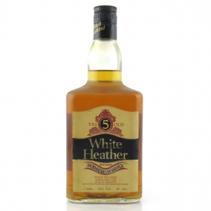 White Heather 5 Year Old 1 Litre 1980s