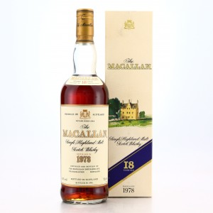 Macallan 1978 18 Year Old 75cl