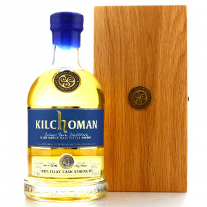 Kilchoman Inaugural 100% Islay Cask Strength - Signed by Anthony Wills