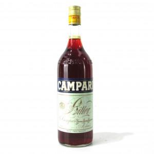 Campari Bitter 1 Litre 1960s