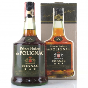 Prince Hubert de Polignac Three Star Cognac 1970s
