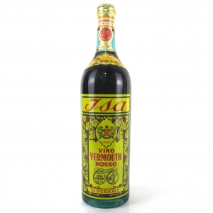 Isa Rosso Vermouth 1 Litre 1960s/70s