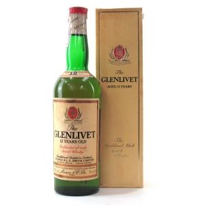 Glenlivet 12 Year Old 1980s