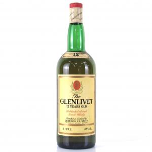 Glenlivet 12 Year Old 1 Litre