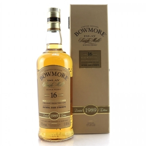 Bowmore 1989 Cask Strength 16 Year Old