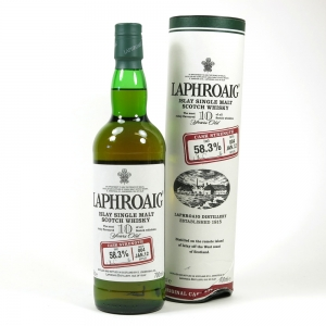 Laphroaig 10 Year Old Cask Strength Batch #006 Front