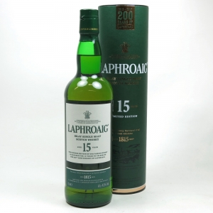 Laphroaig 15 Year Old 200th Anniversary Limited Edition Front