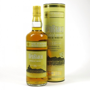 Benriach 16 Year Old Sauternes Front