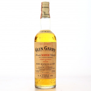 Glen Garry Scotch Whisky 1960s / US Import