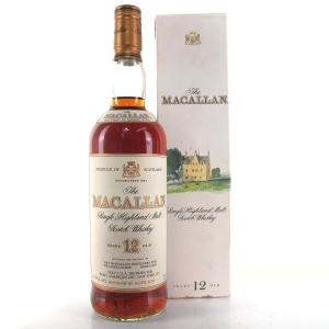 Macallan 12 Year Old 1990s 75cl / US Import