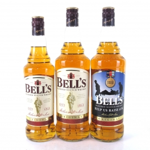 Bell's Original Scotch Whisky 2 x 1 Litre, 1 x 70cl