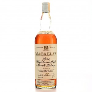 Macallan 1957 Campbell, Hope and King​ 80 Proof / Rinaldi Import