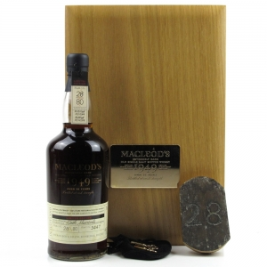 Glen Grant 1949 Macleod's Extremely Rare 50 Year Old
