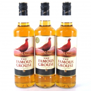 Famous Grouse Scotch Whisky 3 x 70cl