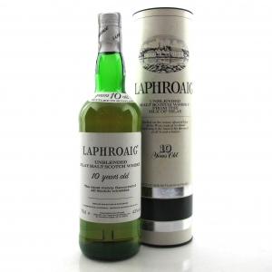 Laphroaig 10 Year Old 1980s / Vinalda Import
