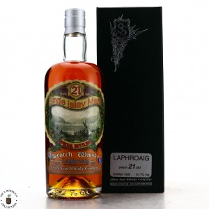 Laphroaig 1990 Silver Seal 21 Year Old / Sestante Collection