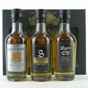 Springbank Distillery Gift Pack 3 x 20cl