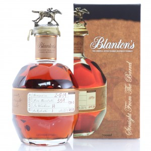 Blanton's Straight from the Barrel Dumped 2019