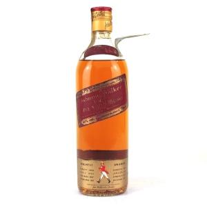 Johnnie Walker Red Label 1970s / Portuguese Import
