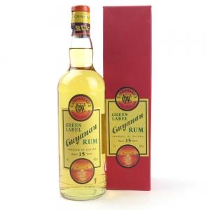 Cadenhead's Green Label Guyanan Rum 15 Year Old