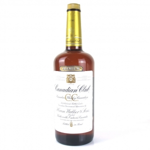 Canadian Club Circa 1980s 1 Litre
