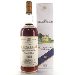 Macallan 18 Year Old 1979 75cl / US Import