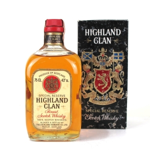 Highland Clan Special Reserve 1970s / Portuguese Import