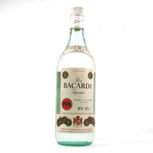 Bacardi Carta Blanca Rum 1980s